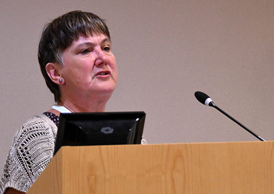 Jackie Imrie, trustee MLD Support Association UK