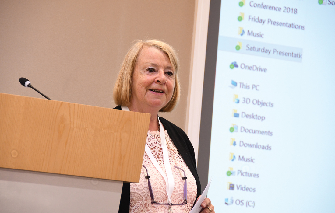 Vivienne Clark Trustee and Chair, MLD Support Association UK