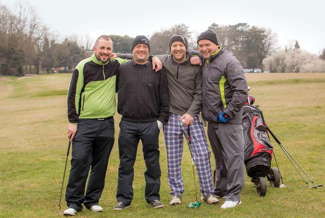 MLD Support Association UK fundraising golf day