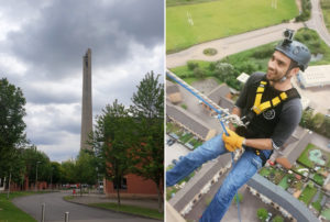 Abseiling for MLD Support Association UK