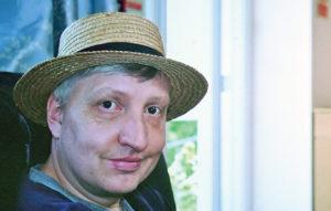 Scott Clark adult onset Metachromatic Leukodystrophy (MLD) sufferer