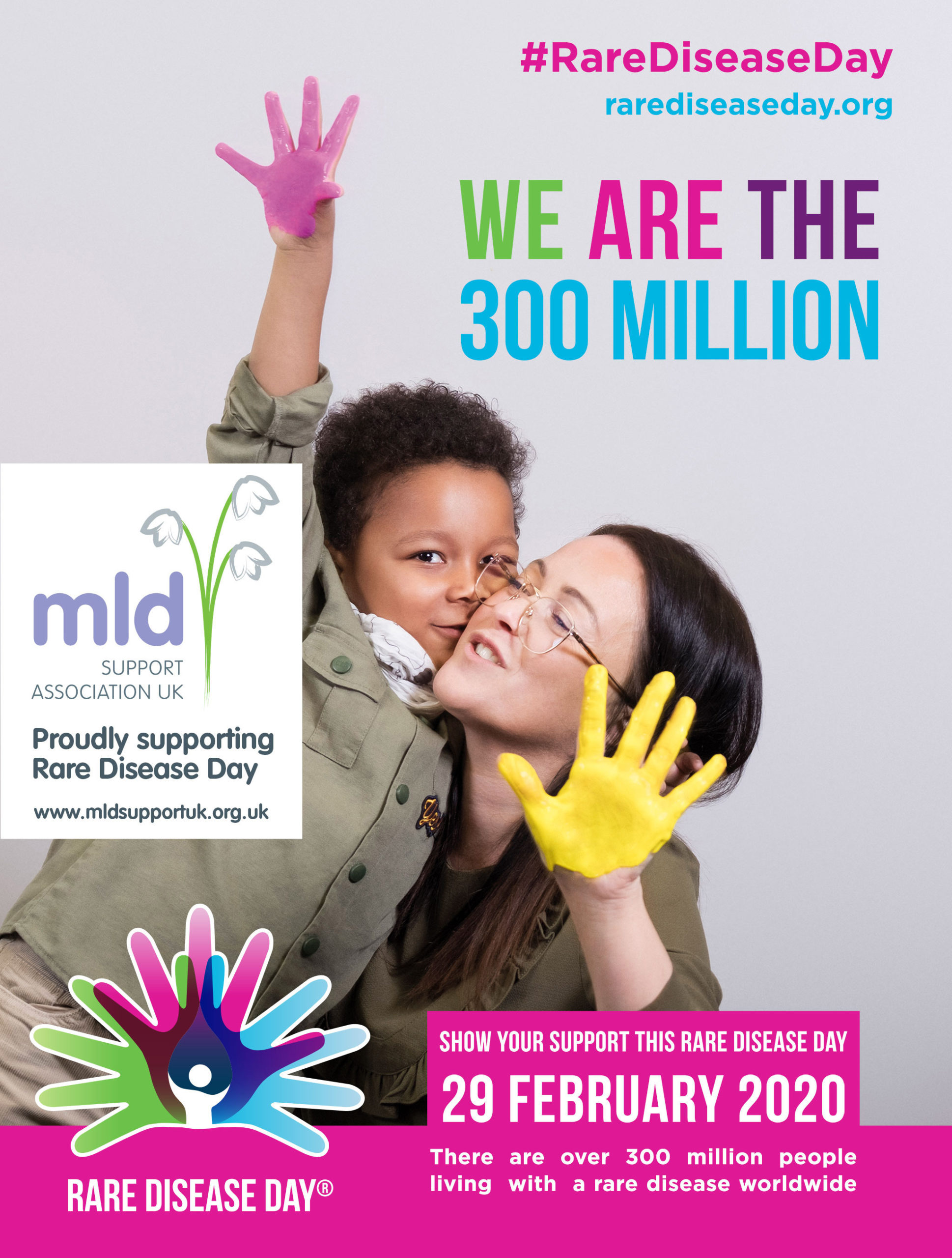 MLD Support Association UK proudly supporting Rare Disease Day